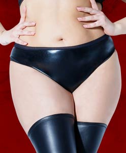 Vegan Leather Panties