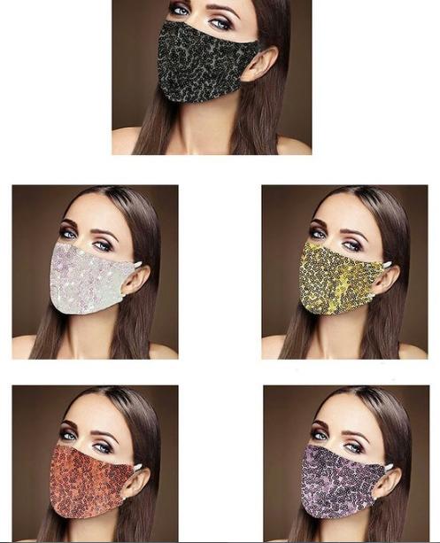 Glitter Mask Edmonton