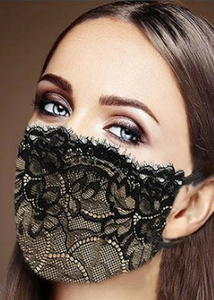 Chantilly Lace Mask Edmonton