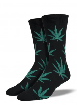 Men's 420 Pot Weed Socks Edmonton