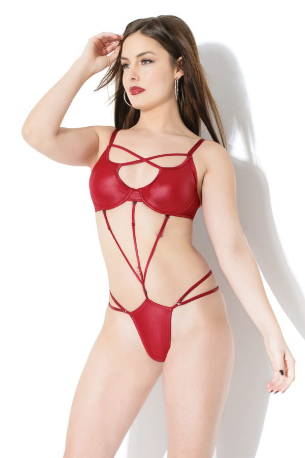 Latex Teddy Harness