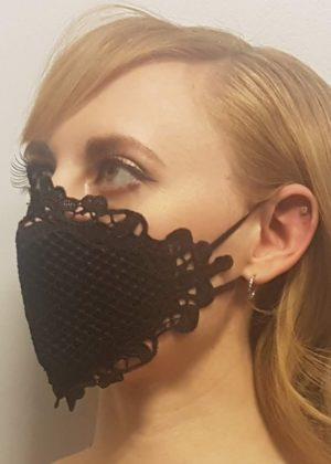 Black Lace Mask Edmonton