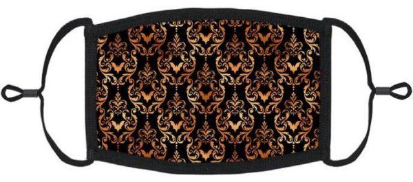 Victorian Gothic Damask Mask Edmonton