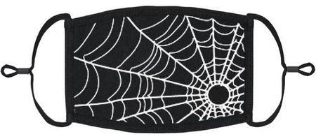 Goth Spiderweb Mask Edmonton