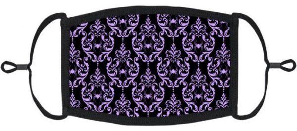 Victorian Purple Spider Mask