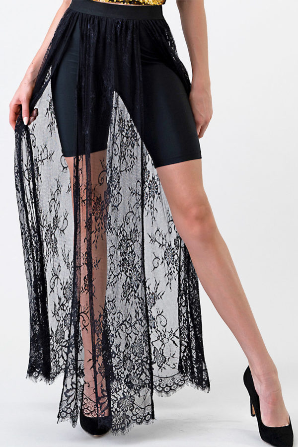 Chantilly Lace Maxi Skirt Edmonton