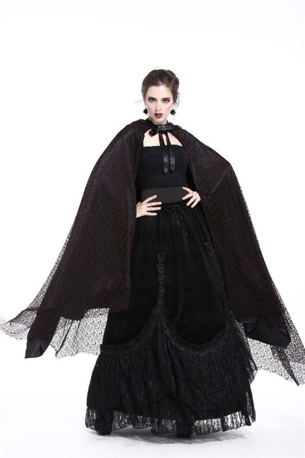 Gothic Mesh Cloak Edmonton