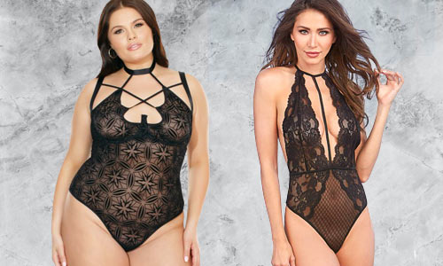 Teddies, rompers, and other one piece lingerie