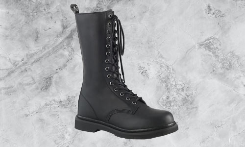Unisex and men's footwear gothic boots