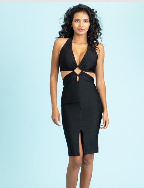 Sexy Black Clubbing Dress Clubwear Edmonton