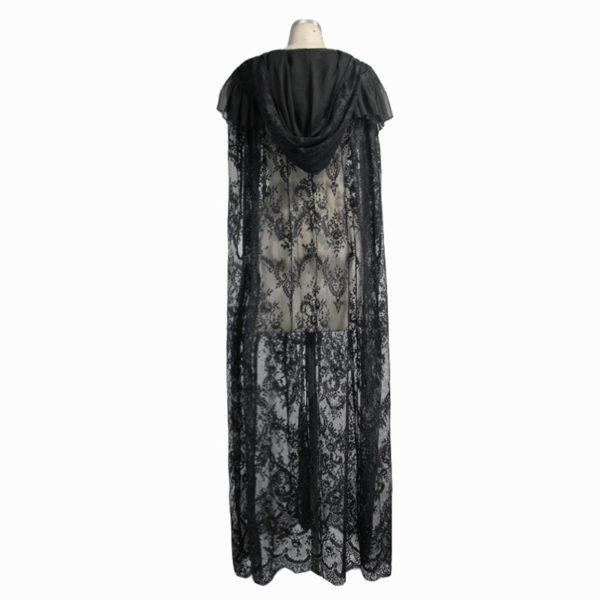 Gothic Chantilly Lace Cloak Edmonton Costumes