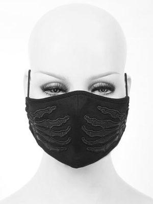 Skeleton Hands Mask Edmonton Gothic