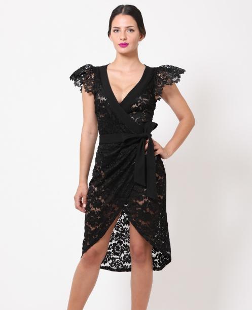 Black Lace Dress Edmonton