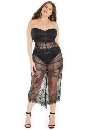 Eyelash Lace Dress Edmonton