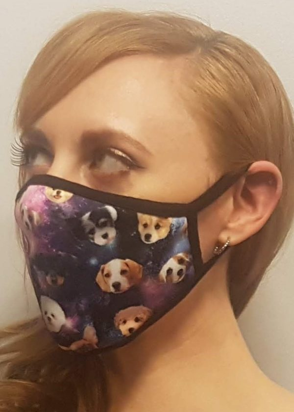 Galaxy Dog Mask Edmonton
