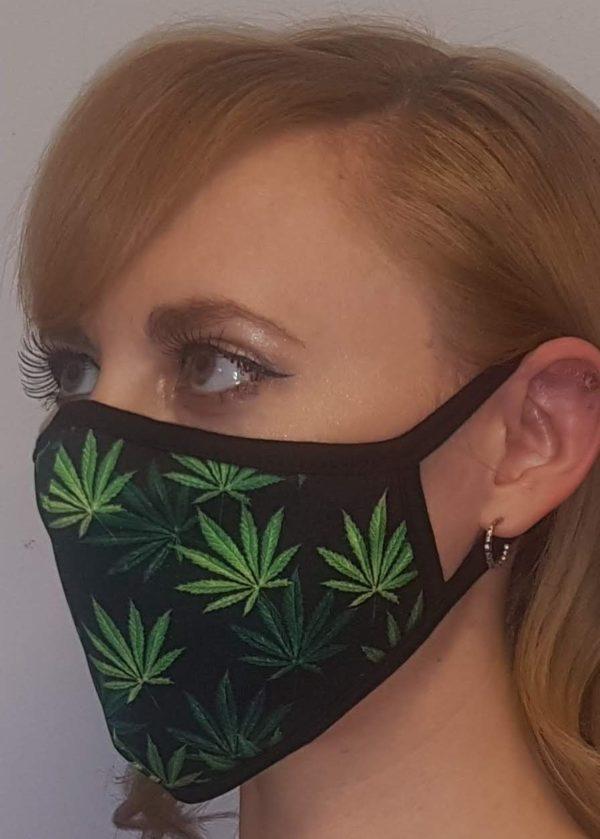 Pot Leaf Mask Edmonton