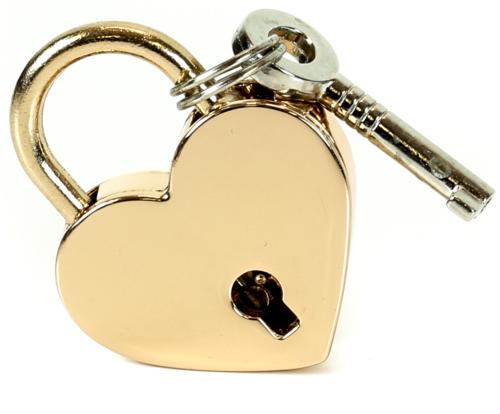 Gold Heart Lock Edmonton