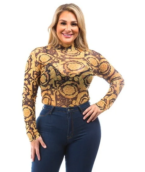 Plus Size Bodysuit Edmonton Clothing