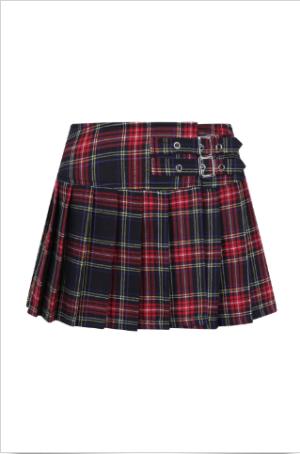 Black Tartan Skirt Edmonton