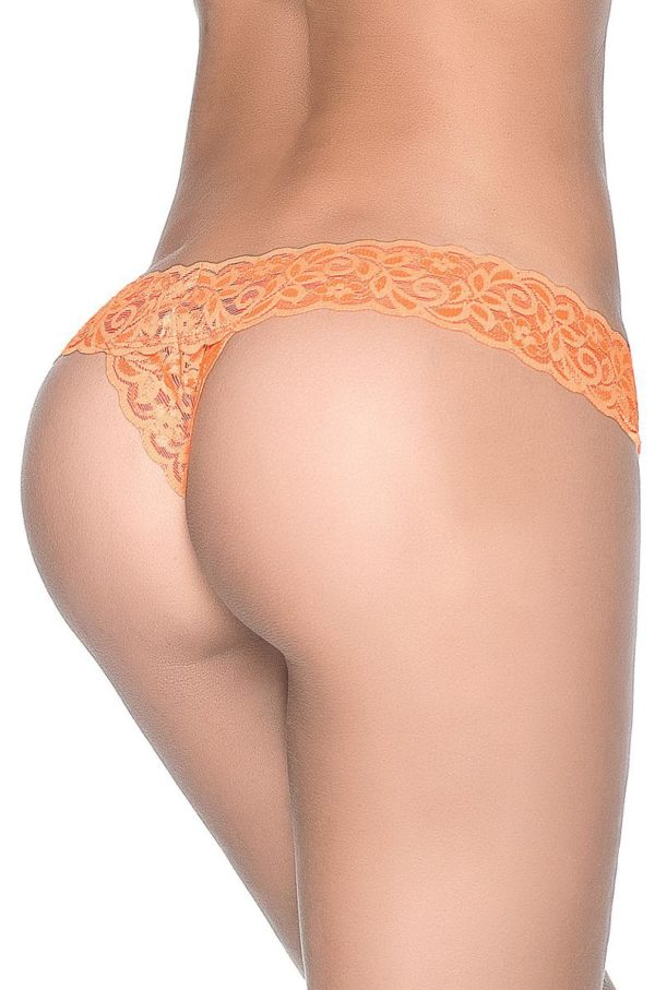 Orange Lace Thong Edmonton