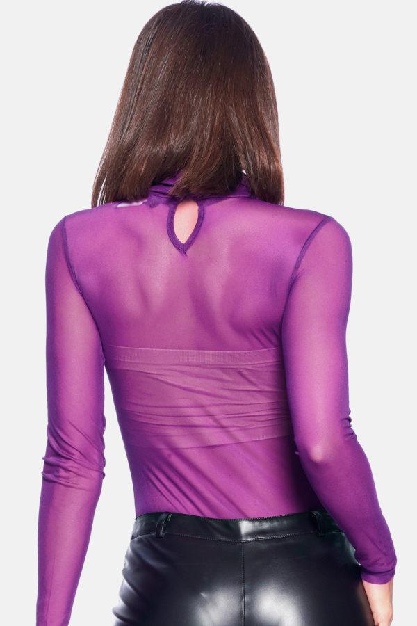 Plus Size Purple Bodysuit Edmonton
