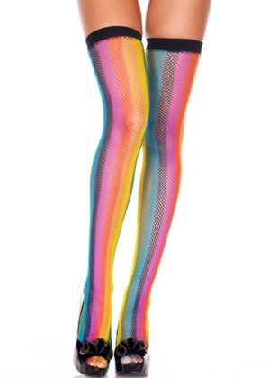 Rainbow Stockings for Pride Edmonton